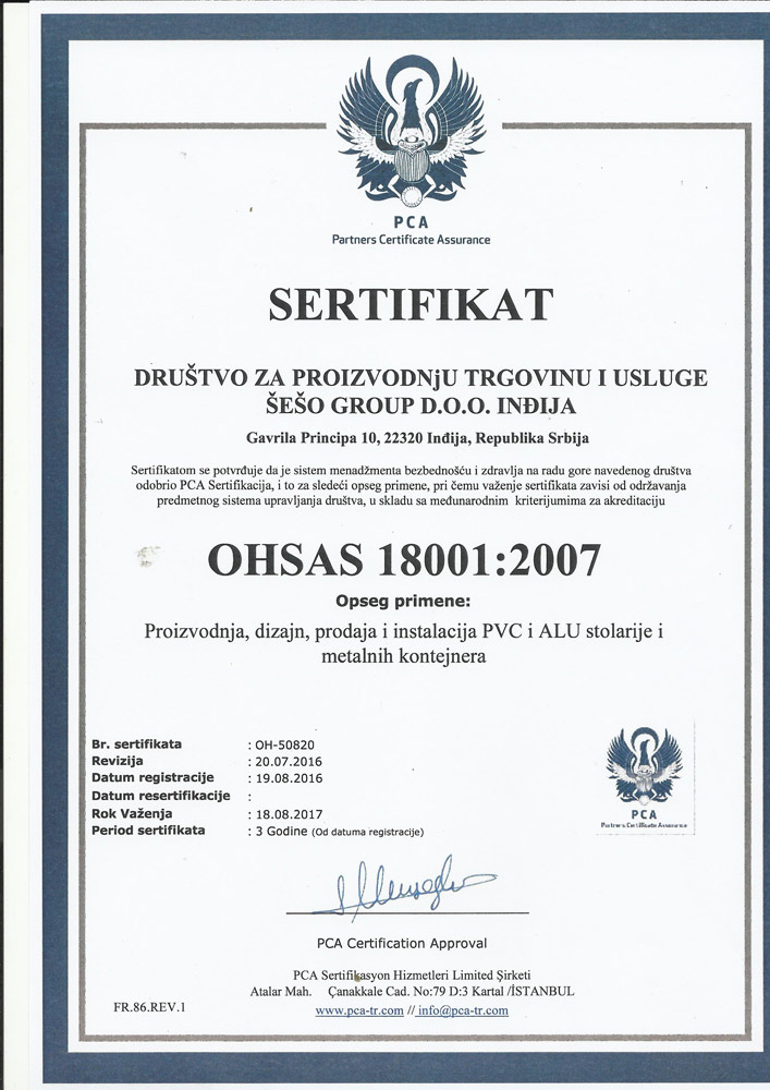 OHSAS-18001-SRP